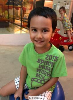 AARON 104公分 4歲1